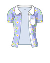 Flower Short-sleeved shirt