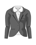 Suit Jacket R Collar