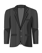Suit Stripe Jacket