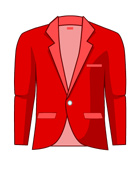 Suit Jacket Colorful