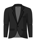 Suit Jacket 1button