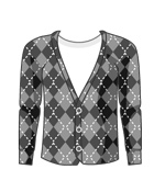 Argyle Knit Kadegan
