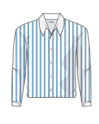 Y-shirt stripe